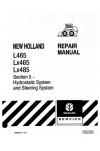 New Holland CE L465, LX465, LX485 Service Manual