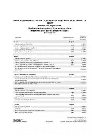 Case 410, 420, 420CT Service Manual