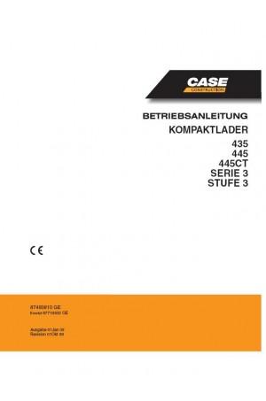 Case 435, 445, 445CT Operator`s Manual
