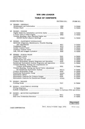Case 1816 Service Manual