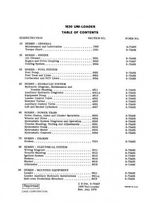 Case 1830 Service Manual