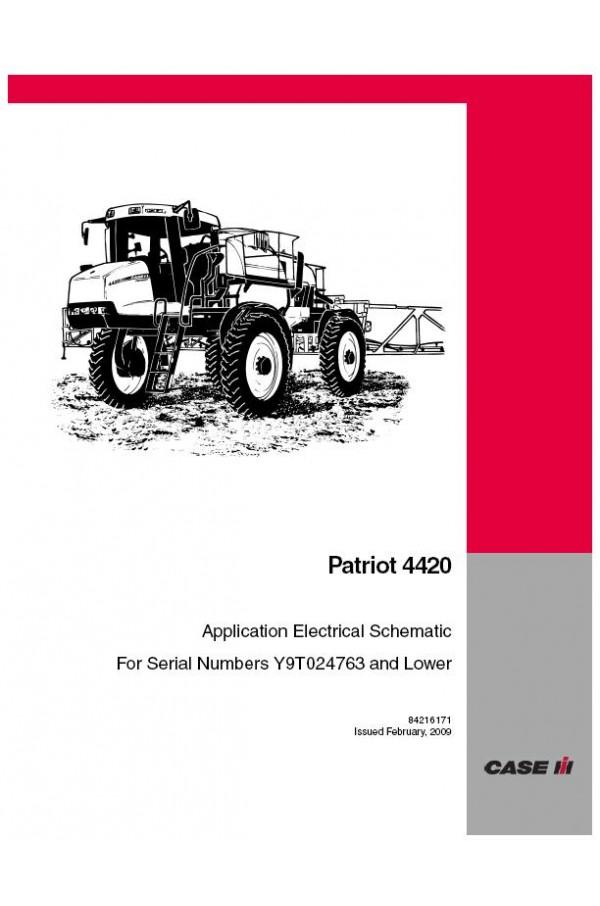 case ih patriot 4420 service manual rh heavymanuals com 4410 Specs Case IH Sprayer Case 4420 Spraying Field