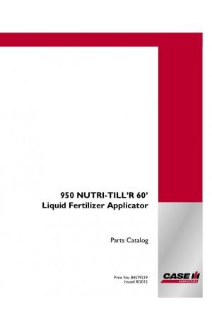 Case IH 950 Parts Catalog