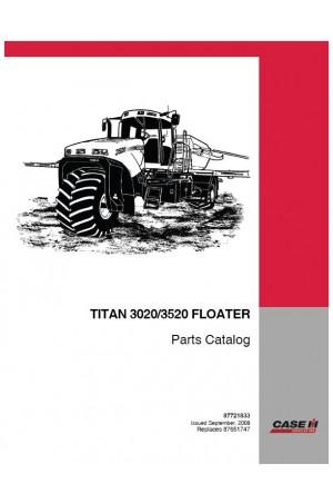 Case IH 3020, 3520 Parts Catalog