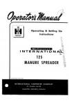 Case IH 125 Operator`s Manual