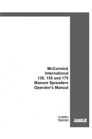 Case IH 130, 155, 175 Operator`s Manual