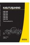 New Holland CE LM1340 Turbo, LM1343 Turbo, LM1345 Turbo, LM1443 Turbo, LM1445 Turbo, LM1745 Turbo Operator`s Manual