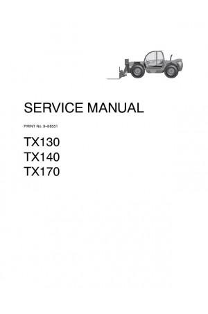 Case 140, 170, TX130 Service Manual
