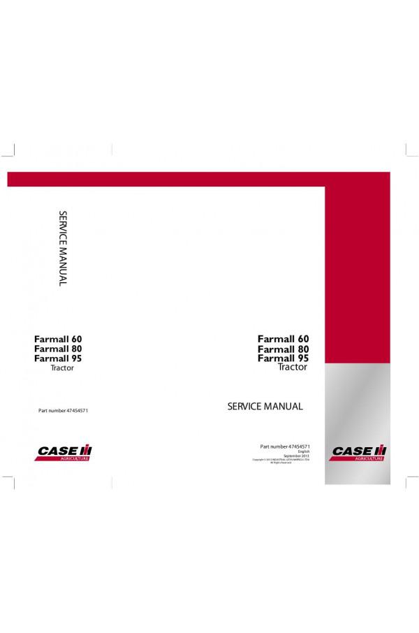 case ih farmall 60 farmall 80 farmall 95 service manual rh heavymanuals com case ih farmall 95 repair manual Case IH Farmall 95 PTO Cable