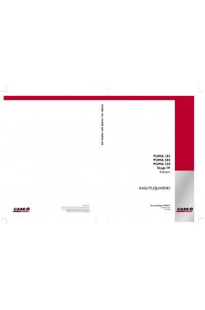 Case IH Puma 185, Puma 200, Puma 220 Operator`s Manual