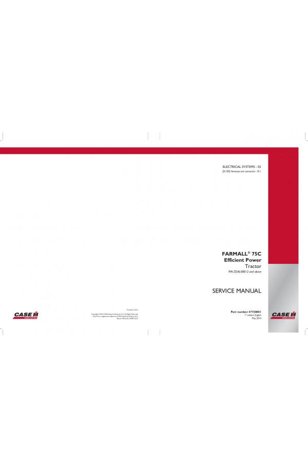 Wiring Diagram Farmall 75c Residential Electrical Symbols