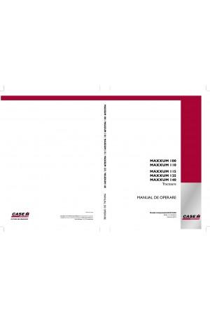 Case IH Maxxum 100, Maxxum 110, Maxxum 115, Maxxum 125, Maxxum 140 Operator`s Manual