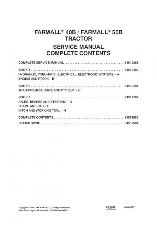 case ih farmall 40b farmall 50b service manual rh heavymanuals com