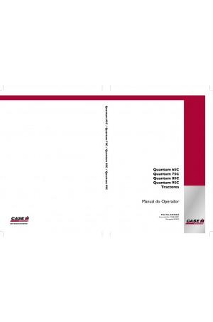 Case IH Quantum 75C, Quantum 85C, Quantum 95C Operator`s Manual
