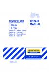 New Holland TT60A, TT75A Service Manual