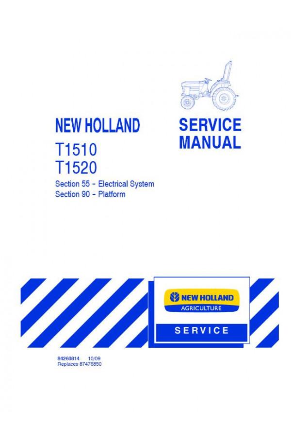 new holland t1510 t1520 service manual rh heavymanuals com new holland t1510 repair manual T1510 New Holland Rear Attatchments