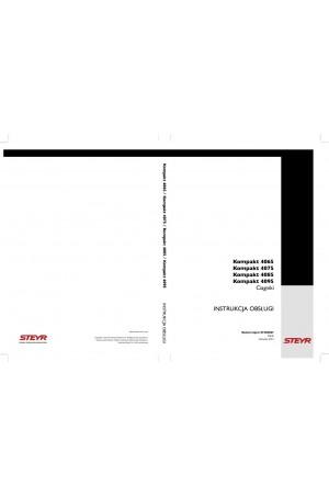 Steyr Kompakt 4065, Kompakt 4075, Kompakt 4085, Kompakt 4095 Operator`s Manual