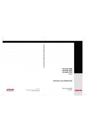 Steyr Kompakt 4085, Kompakt 4095, Kompakt 4105 Operator`s Manual