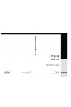 Steyr 4110 PROFI CVT, 4120 PROFI CVT, 4130 PROFI CVT Operator`s Manual
