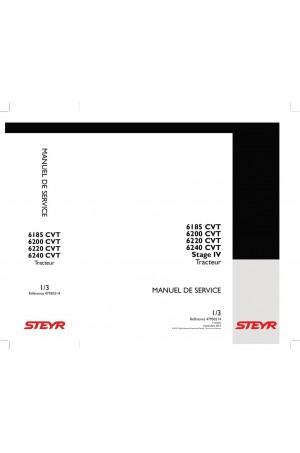 Steyr 6185 CVT, 6200 CVT, 6220 CVT, 6240 CVT Service Manual