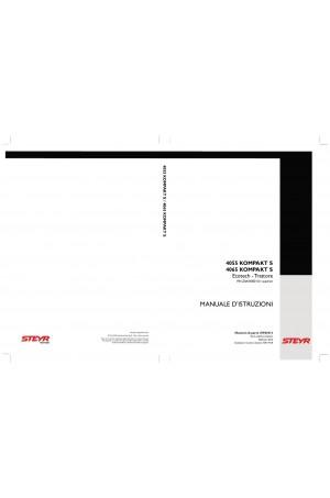 Steyr Kompakt 4055 S, Kompakt 4065 S Operator`s Manual