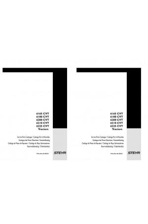 Steyr 6165 CVT, 6180 CVT, 6200 CVT, 6210 CVT, 6225 CVT Parts Catalog