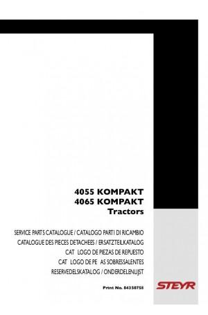 Steyr 4055, 4065 Parts Catalog