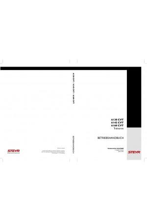 Steyr 6130, 6145, 6160 Operator`s Manual