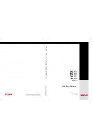 Steyr 6170 CVT, 6185 CVT, 6200 CVT, 6215 CVT, 6230 CVT Operator`s Manual