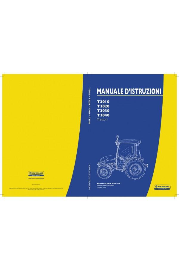 new holland t3010 t3020 t3030 t3040 operator s manual rh heavymanuals com AT&T Phone Manuals Panasonic Phones Manuals