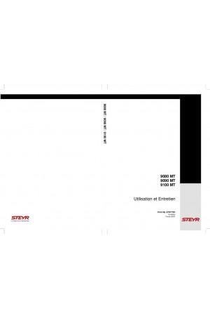Steyr 9080 MT, 9090 MT, 9100 MT Operator`s Manual