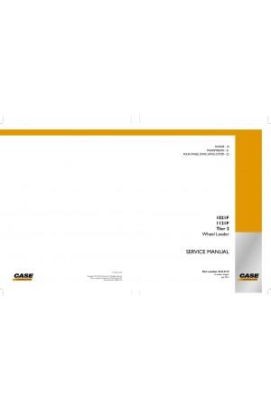 Case 1021F, 1121F Service Manual