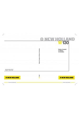 New Holland CE W130 Operator`s Manual