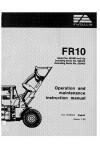 New Holland CE FR10 Operator`s Manual