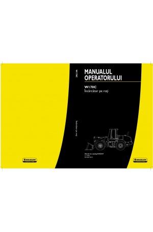 New Holland CE W170C Operator`s Manual